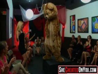 62 Wild Cfnm Club Orgy Women Sucking Dick 17