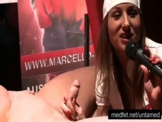 Public Blow Job Lesson On Stage