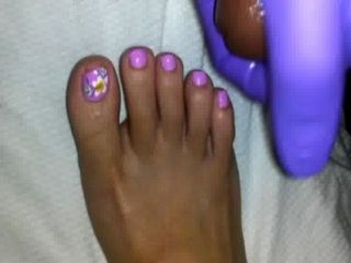 Cum On Petite Feet