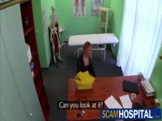 Blonde Gina Gets Fucked By The Doctor In The Examining Table