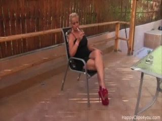Susan High Heels Dangling, Smoking Promo Video