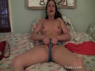 Superb Samantha Fucking A Giant Toy