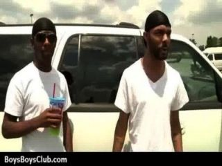 Muscled Black Gay Boys Humiliate White Twinks Hardcore 04