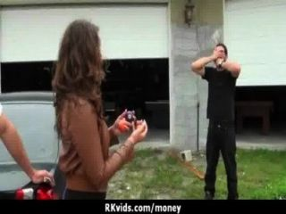 Sexy Wild Chick Gets Paid To Fuck 19