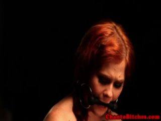 Redhead Tattood Bdsm Sub Extreme Punish