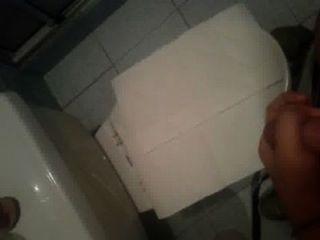 Cum In The Bathroom
