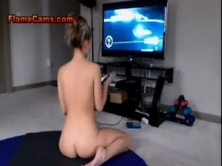 Amazing Blonde Fingers And Games