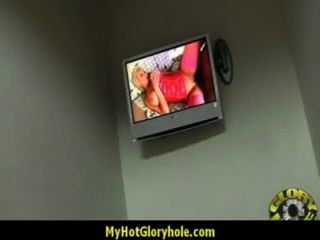 Hottie Sucks And Fucks Black Cock For Cusmhot At Gloryhole 20