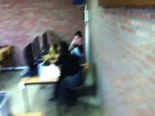 Phat Ass Teacher, Elisabeth Sheik, Thong In Classroom