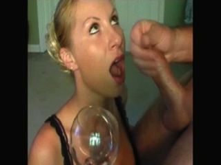 Amateur Kelly - Cup Of Cum Gargle