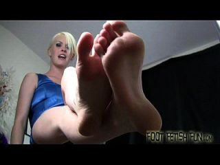 Wiggling Out Toes While You Jerk You Cock