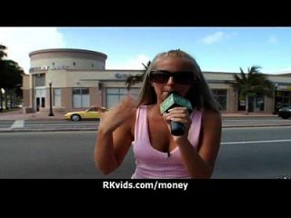 Amateur Chick Takes Money For A Fuck 11