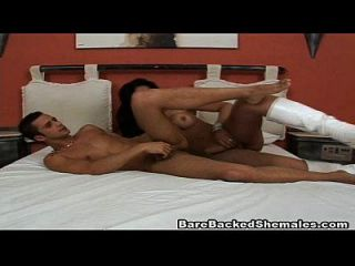 Guy Licking Hot Shemale Asshole Then Do Bareback