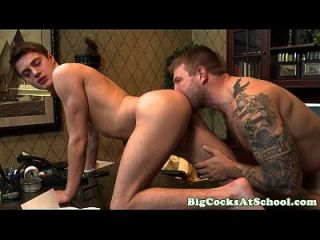 Big Dick Colby Jansen Pounds Hunter Page