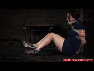 Sub Skank Learns Discipline By Maledom