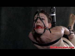 Hogtied Submissive Being Humiliated