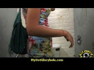 Hottie Sucks And Fucks Black Cock For Cusmhot At Gloryhole 13