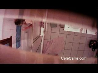 Hidden Cam - Teen In Bathroom