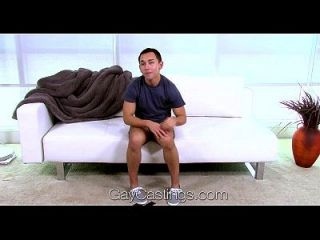 Hd - Gaycastings Martin Is Going For His First Ride On The Casting Couch