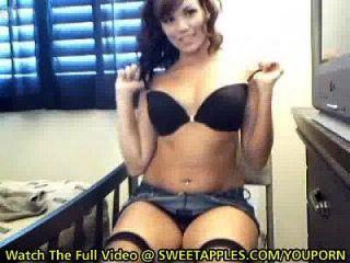 Youporn - Perfect Ass Tits On Gorgeous Webcam Amateur