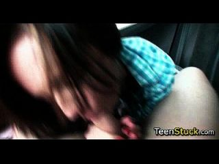 Hot Sex With Teen Girl In Car After Picking Her Up