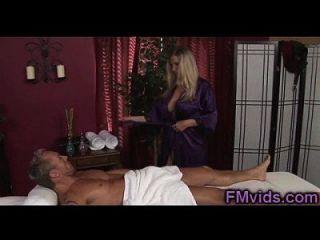 Blonde Milf Devon Lee Fucked After Massage
