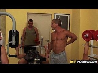 Gym Room Orgy Christine Lee, Jasmine Black, Jennifer Morante, Tilly Hardy 1 1