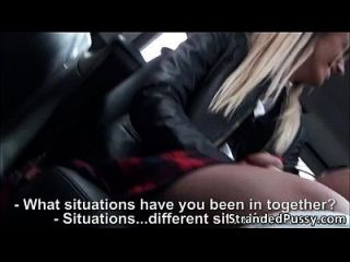 Gorgeous Euro Teen Sluts Dominica And Jessi Gets Banged In The Car