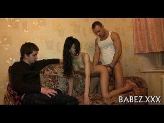 Naughty Playgirl Raises Her Long Legs.