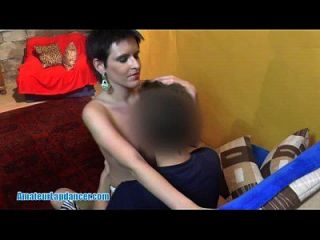 Lapdance And Handjob By Wild Czech Chick