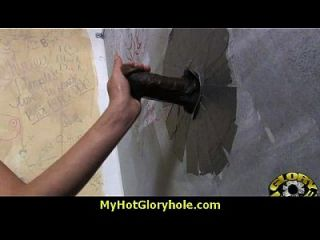 Interracial - White Lady Confesses Her Sins At Gloryhole 7
