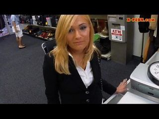 Hot Milf Fucked In Storage Room To Earn More Money