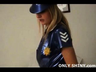 Arrested And Teased By Pvc Police Girl Chesney