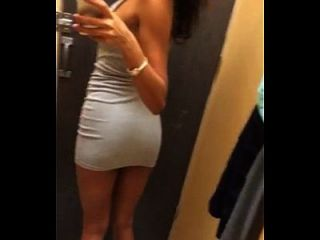 19yr Old Teen Having Girl Time In The Fitting Room