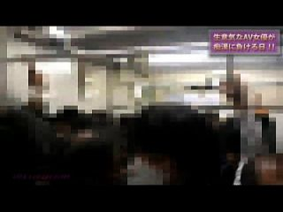 Japanese Train Real Gropers, And Molested 01