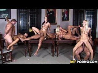 Amazing Orgy Anastacia Divine, Angel Velvet, Christina Jolie, Sharon Pink 5