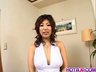Busty Naho Loves Big Cocks