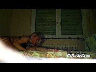 Yelena Vera Follando Y Corrida Facial Con Su Pareja