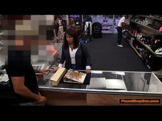 Busty Milf Is Nailed By Pawnshop Owner To Bail Husband