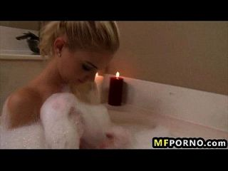 Watch This Girl Fuck Herself With A Bottle And A Candle Franziska Facella 1