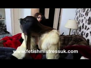 Fur Fetish Mistress - Two Girls Pound Each Other In Fur Coats