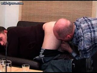 Hot Gay Sucking Old Dick And Gets Ass Licked