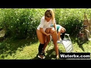 Hot Gal Doing Pee Hardcore Sex