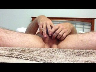 Polishing My Lubed Cock To Orgasm