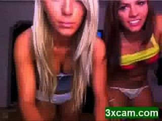 Sexy Teens Dancing In Panties On Webcam