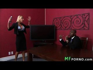 Tiny Pussy Milf Takes Huge Black Dick Morgan Ray 1