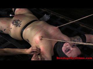 Bdsm Sub Mollie Rose Wax Play