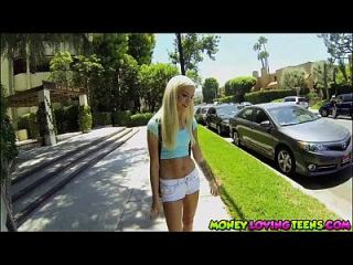 Halle Von Is A Hot And Horny Teen That Comes In Fun Size!