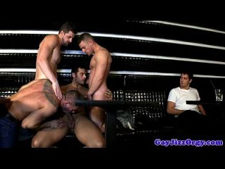 Andrew Stark In A Gay Nightclub Orgy