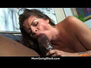 Huge Black Meat Going Into Horny Mom 2